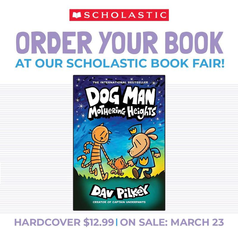 Preorder the new Dog Man book