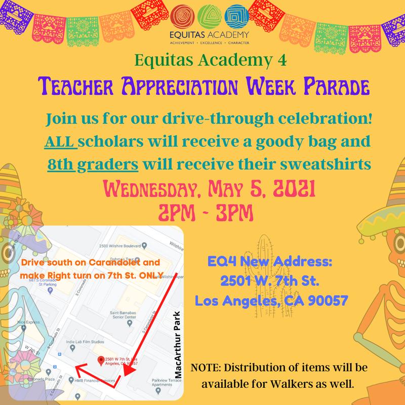 2021 Teacher Celebration / Celebración de maestros 2021 Featured Photo