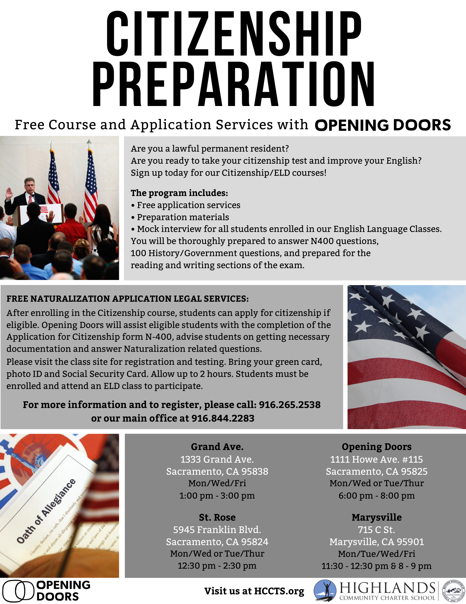 Citizenship Flyer