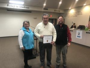 Mineral Wells Rotary Club is January Partner in Education
