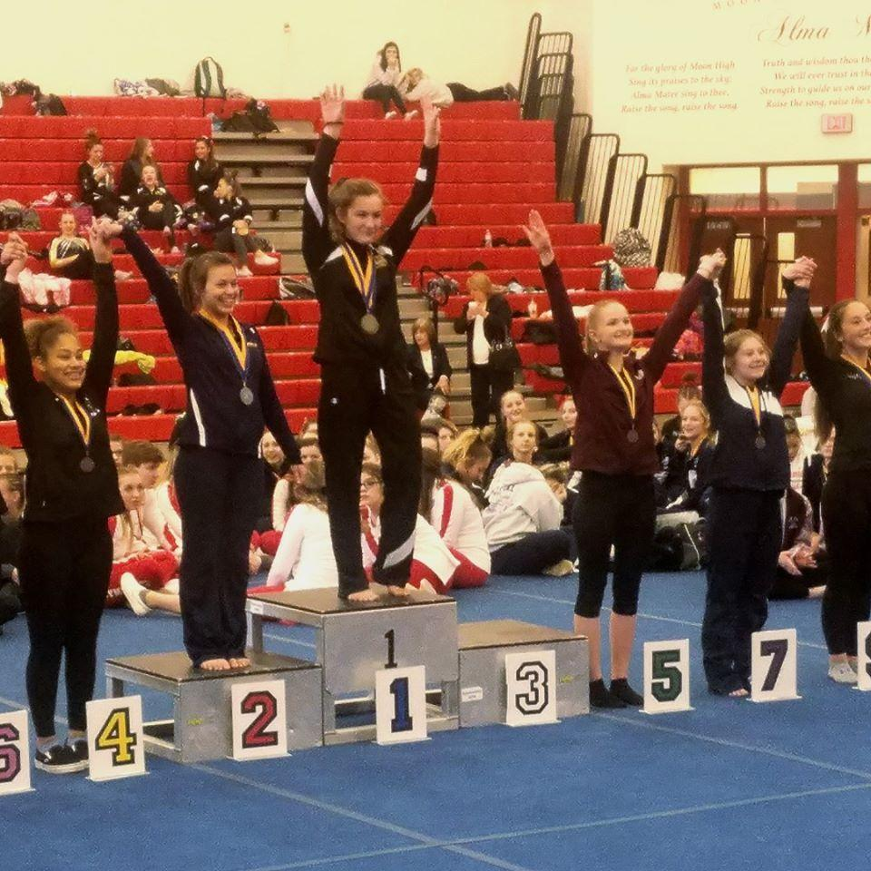 SLS student wins State Championship in Vault