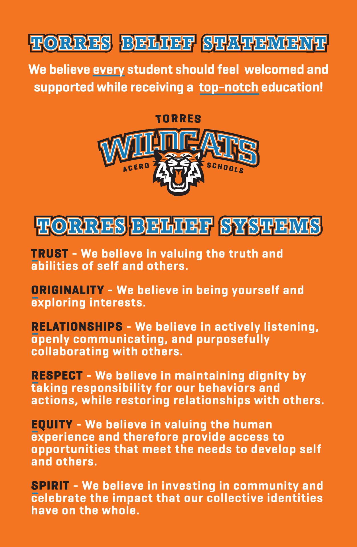 Torres beliefs
