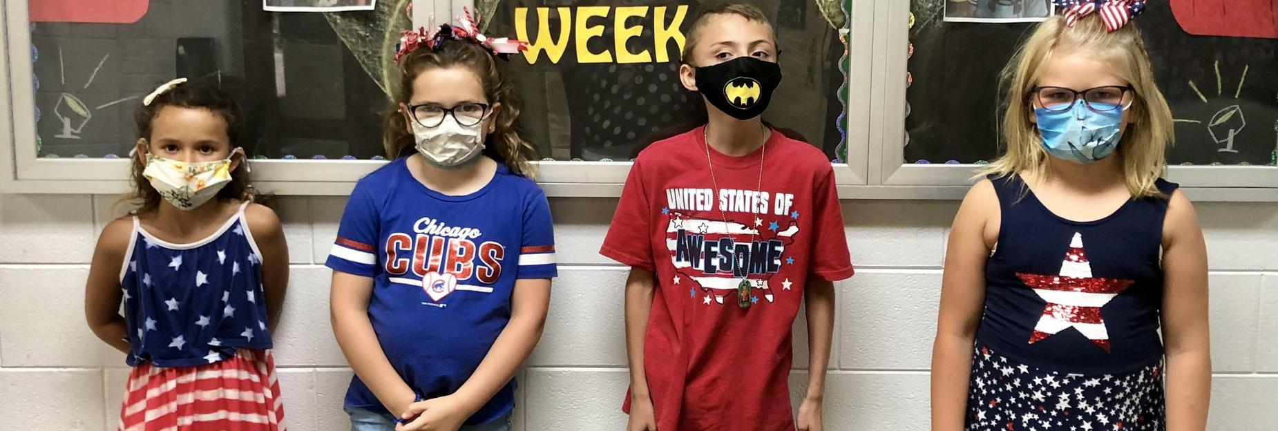 Patriot day had a lot of participation