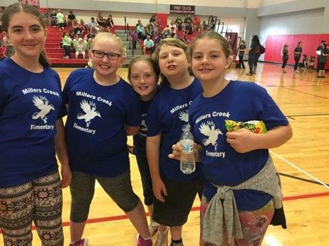 MCES Students at Science Olympiad Competition