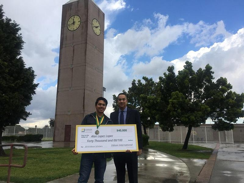 Lynwood High Senior Wins $40,000 Edison STEM Scholarship Featured Photo