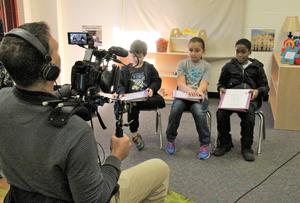 On Thursday, November 29th, a crew from KnowledgeWorks visited B-L Primary and B-L High Schools to capture footage and interviews pertaining to the schools' personalized learning efforts.