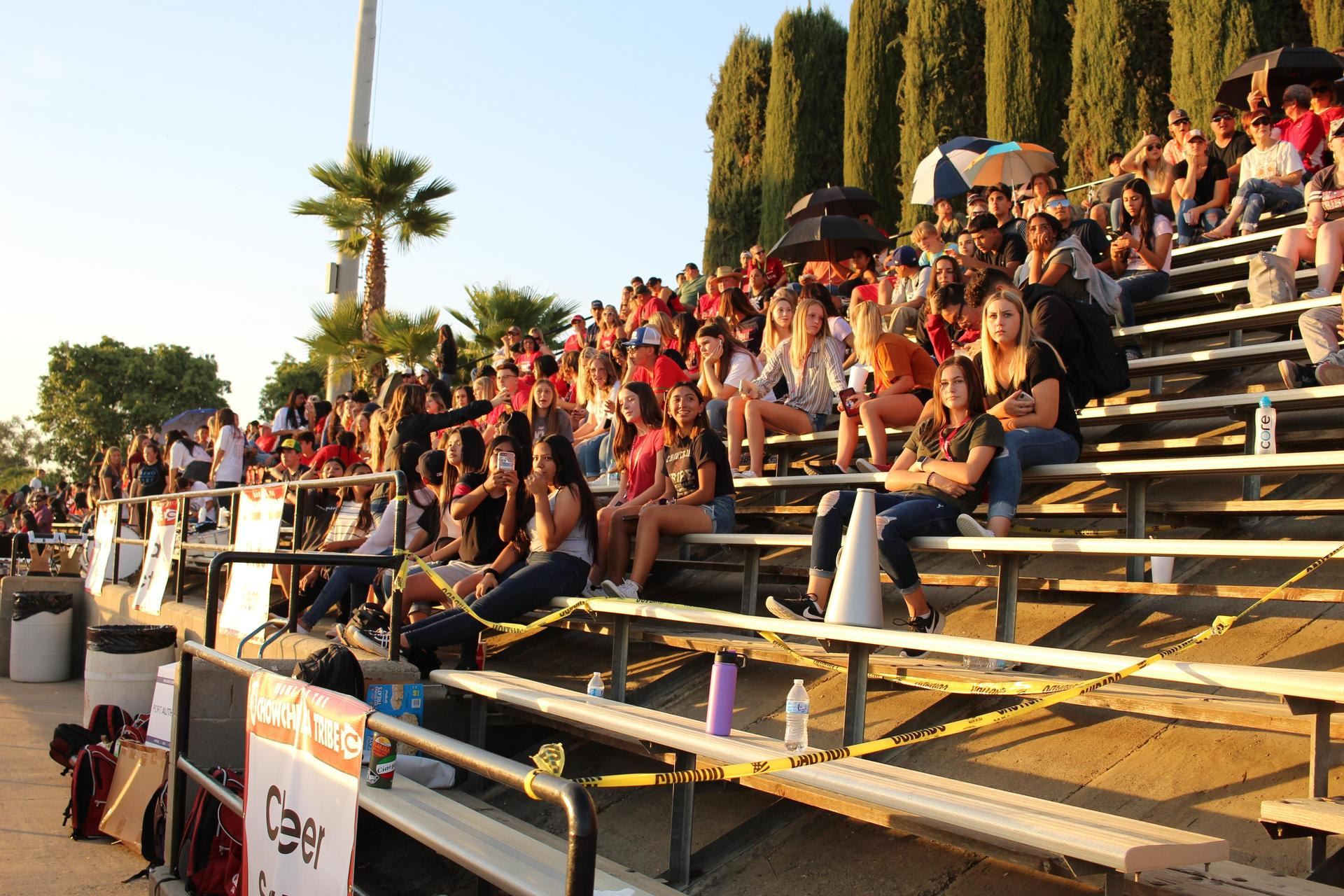 clubs at the central valley christian game