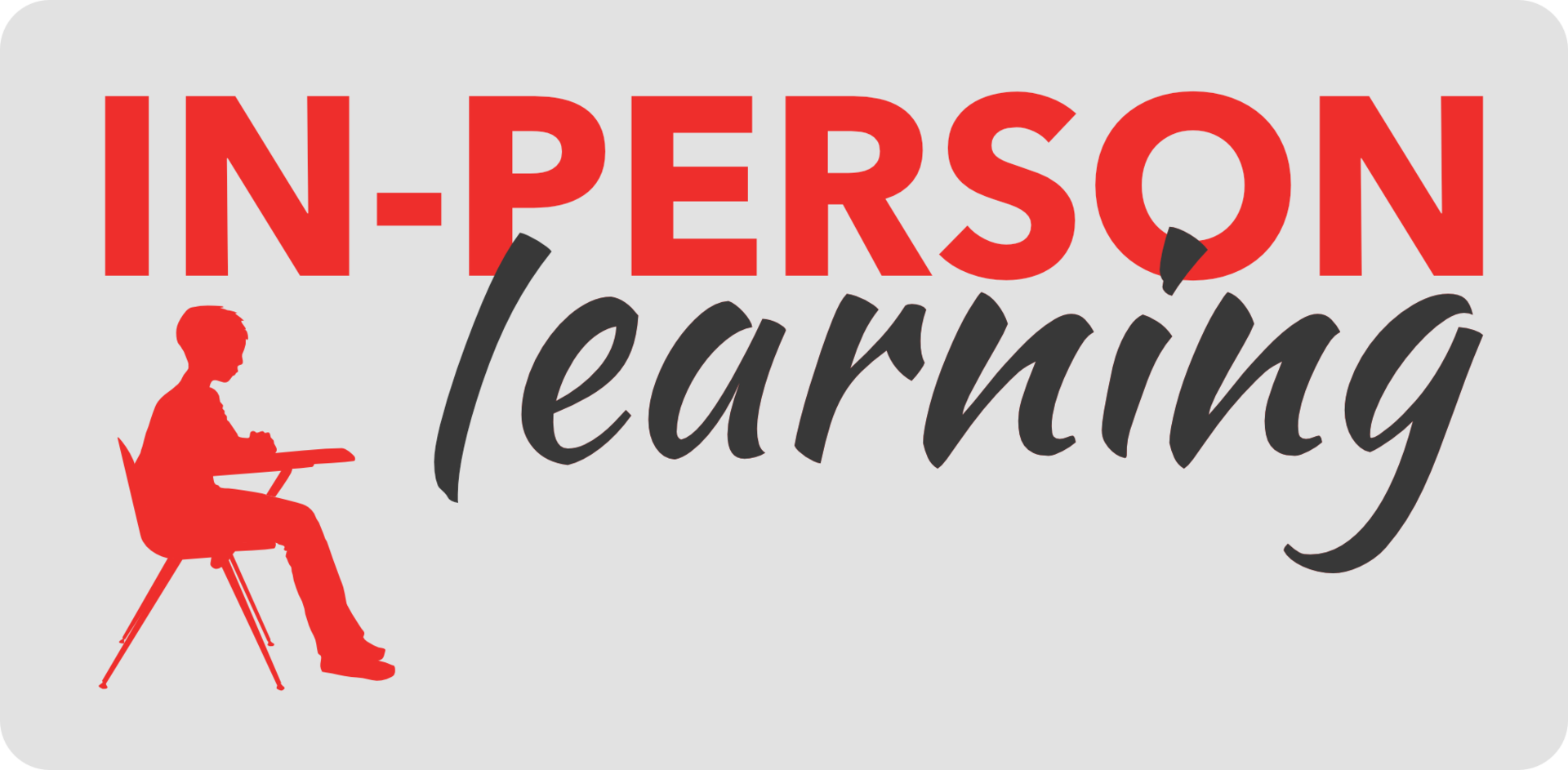 return to learning in person banner