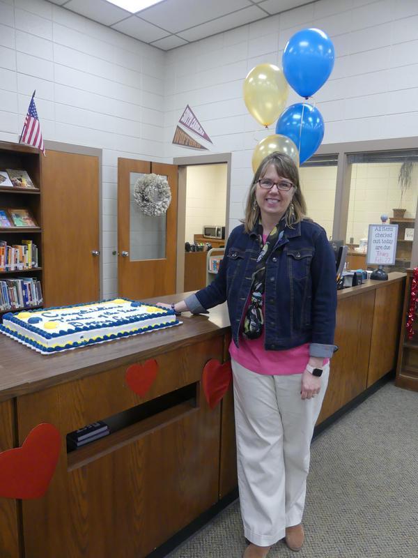 Mrs. Donna Cowan - Gable Teacher of the Year