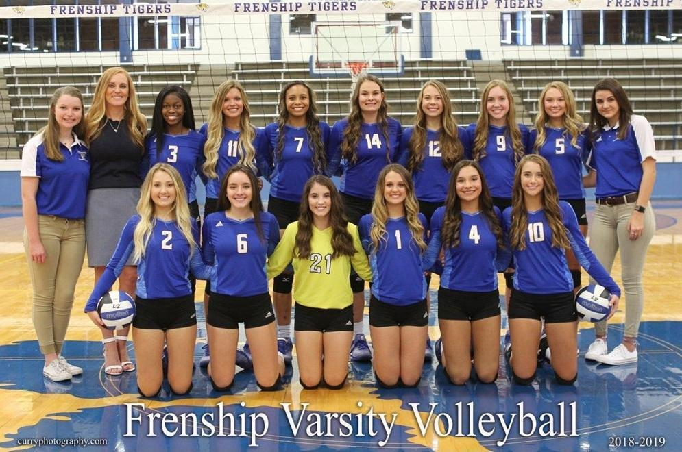 Frenship Tiger Volleyball 2018
