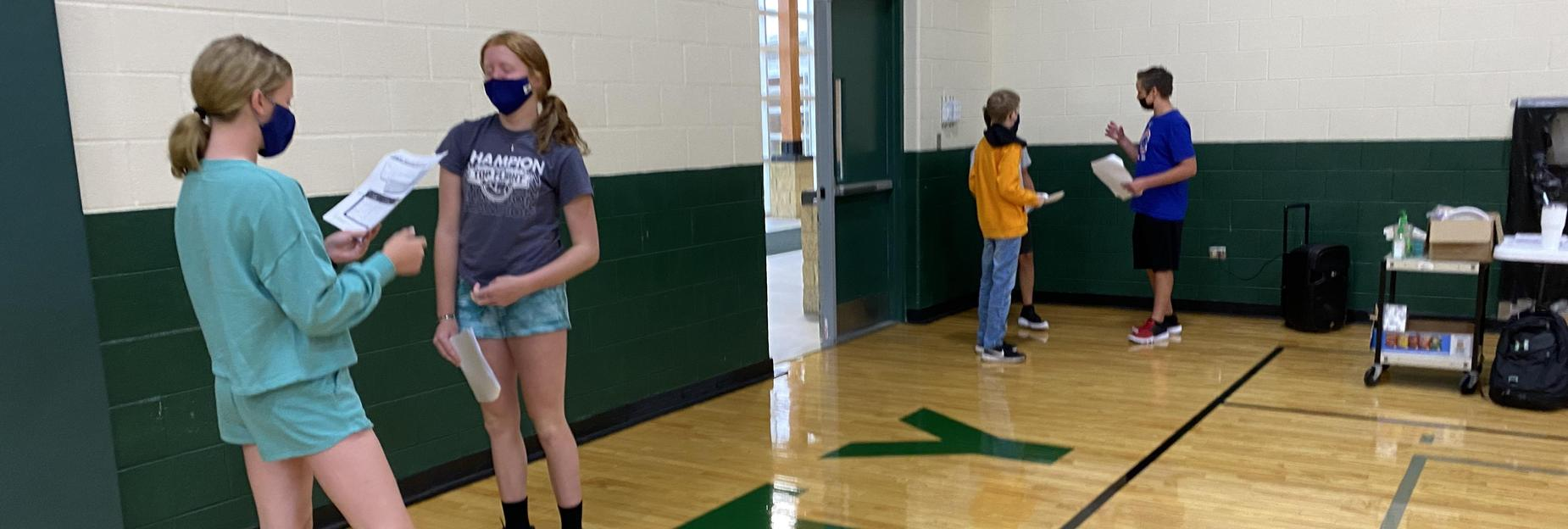CCMS 6th grade activities