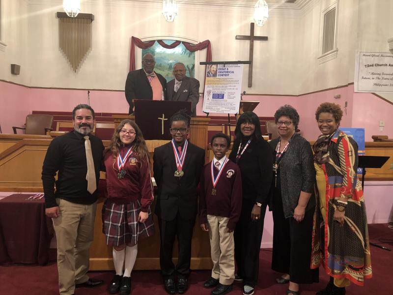 Wilder's Middle School students win big at the SCLC Oratorical Competition Featured Photo