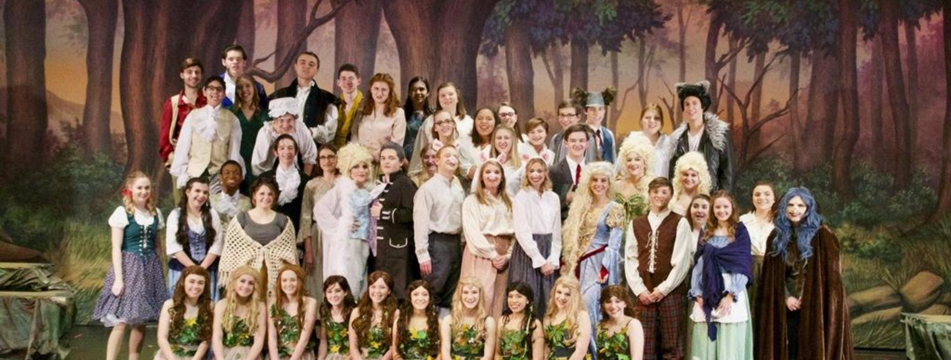 Into the Woods Cast Picture