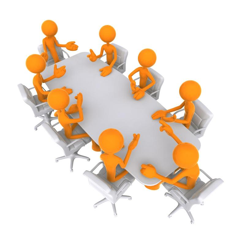 Board Meeting Clipart