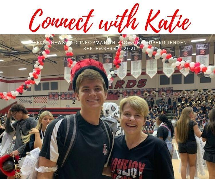 Connect with Katie: September 17, 2021 Featured Photo