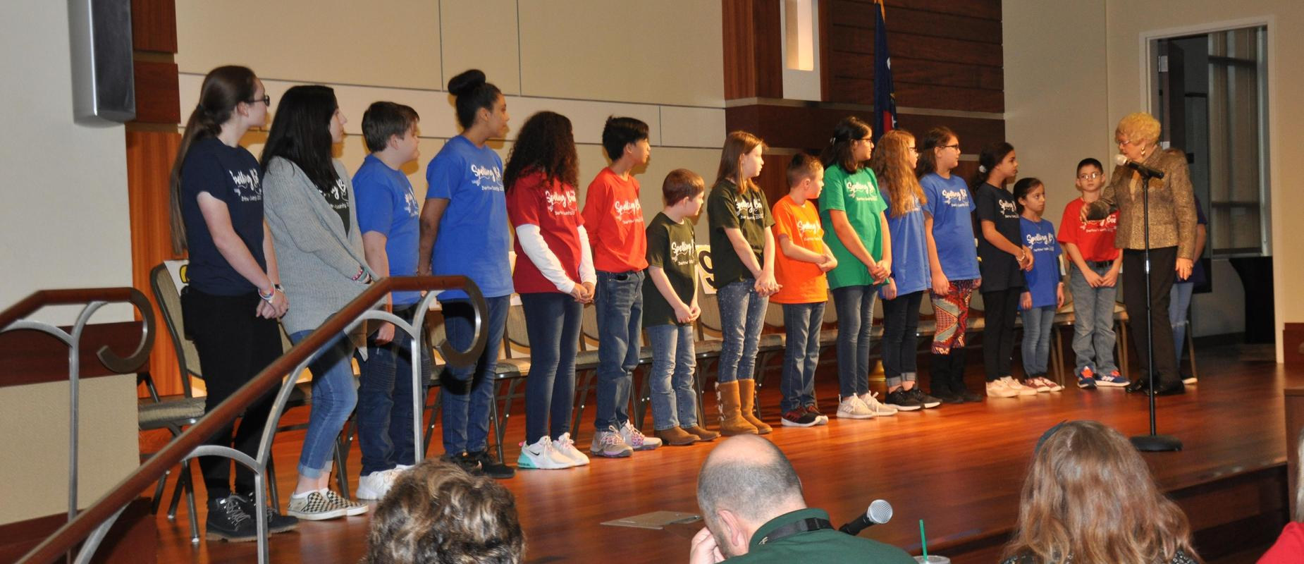 60th Annual District Spelling Bee