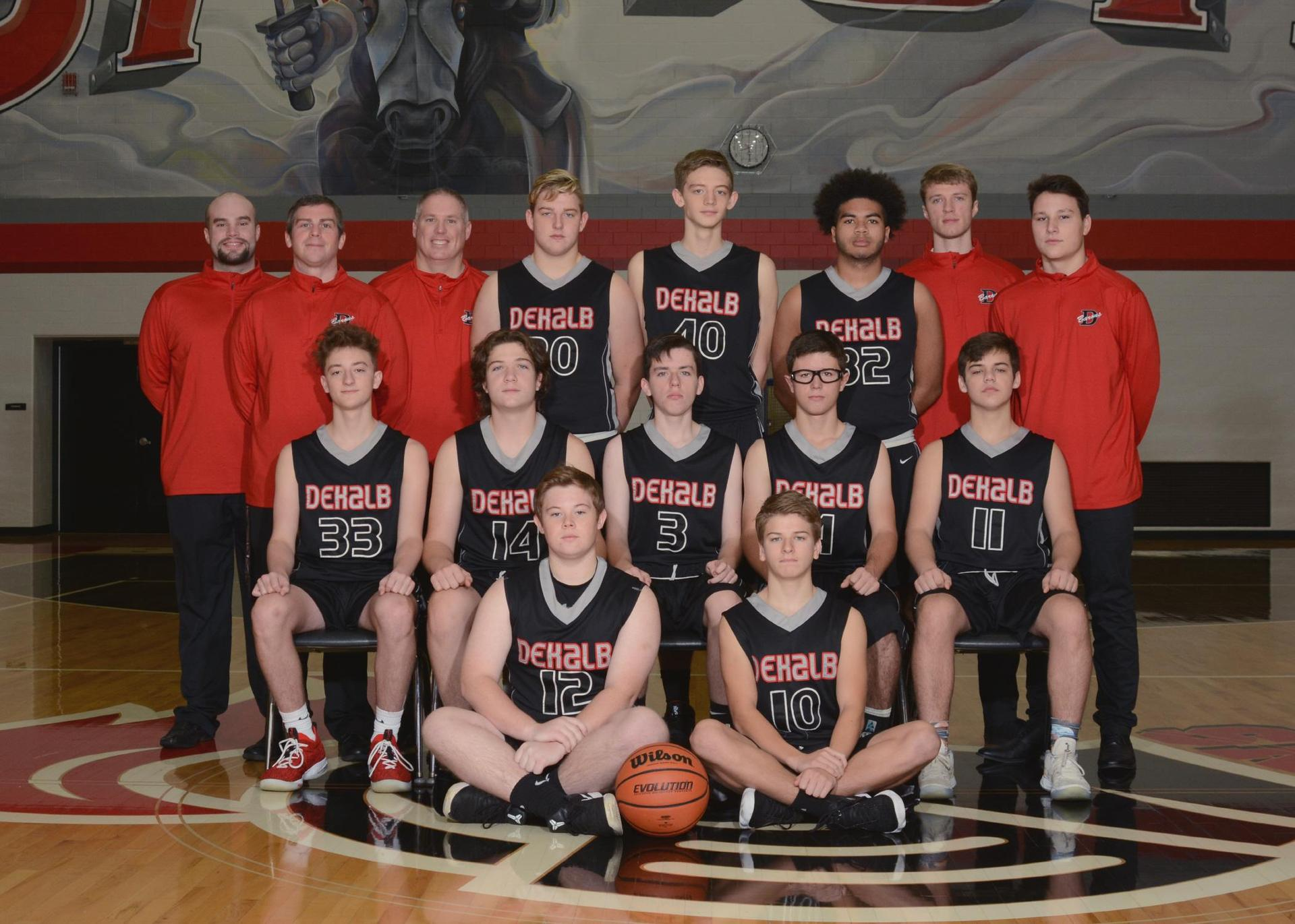 2018-2019 Junior Varsity Boys Basketball
