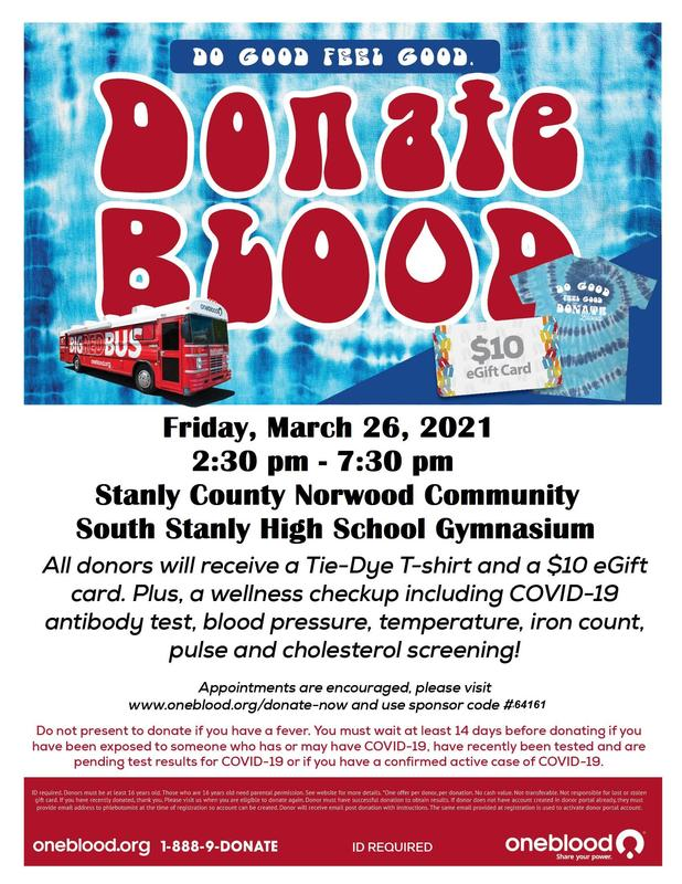 Community Blood Drive at SSHS Mar. 26th, 2:30-7:30PM Featured Photo