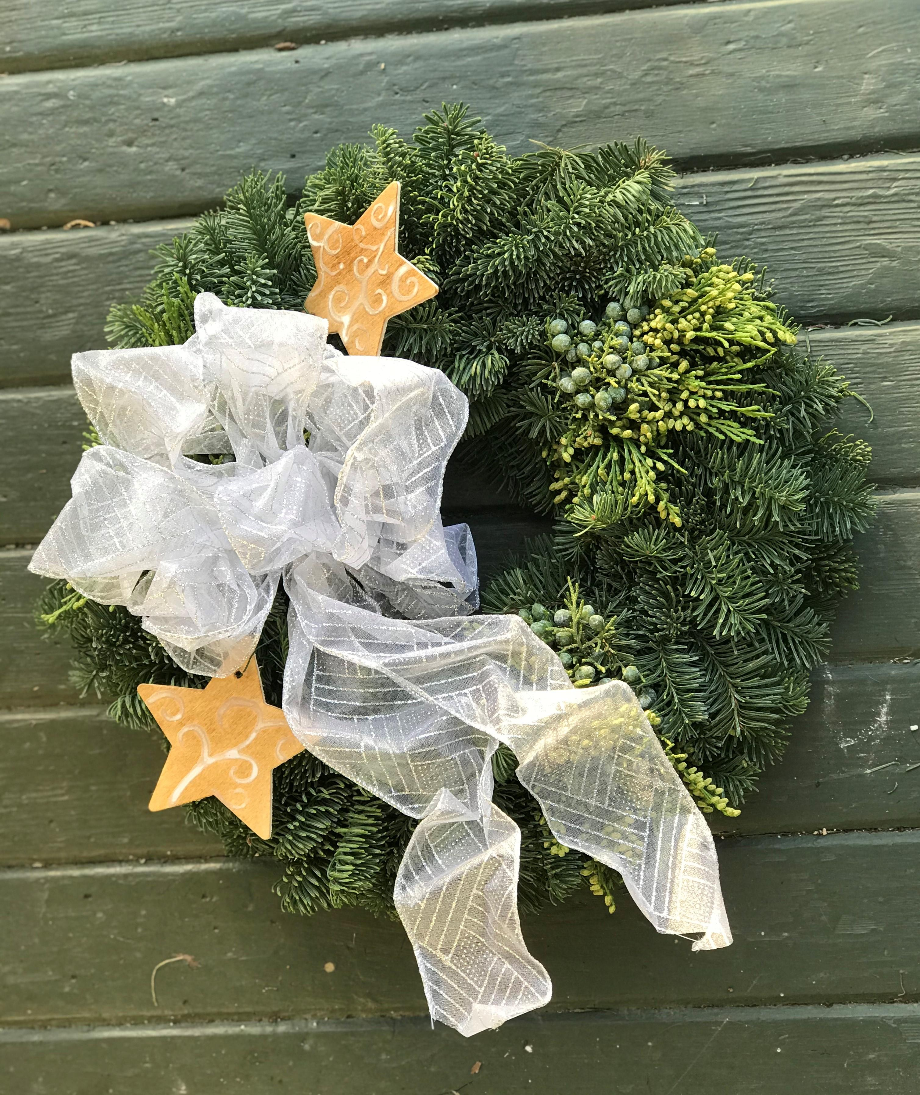 Sample Christmas wreath image