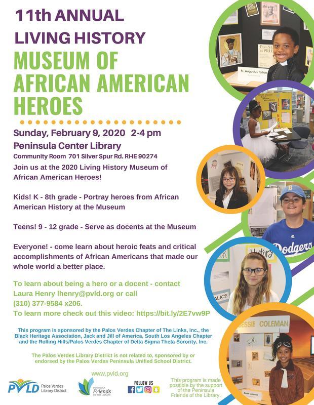 Living Museum Flyer