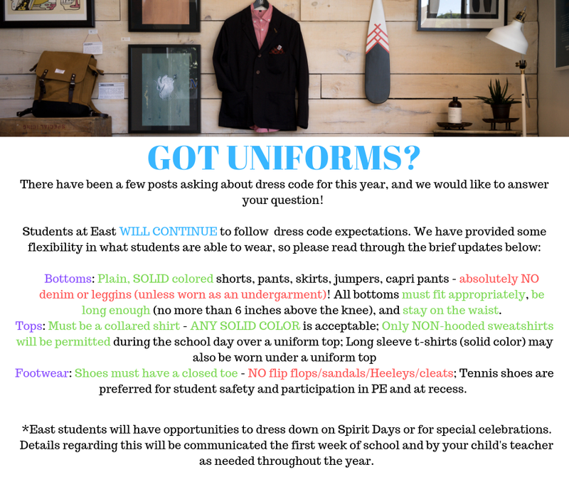 Information about Uniforms Featured Photo