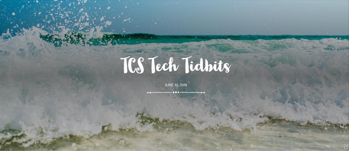 Tech Tidbits Banner