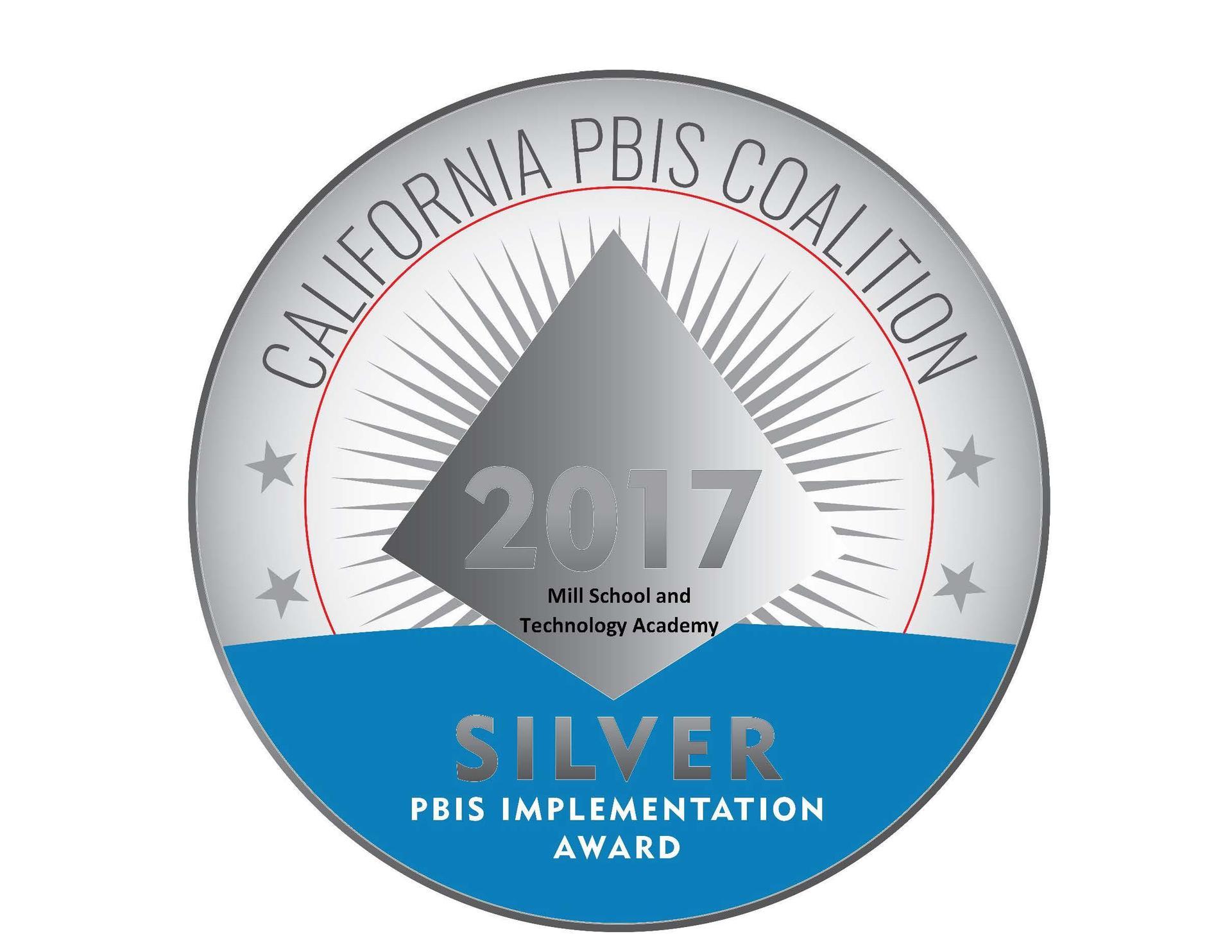 2017 PBIS Silver Award Logo