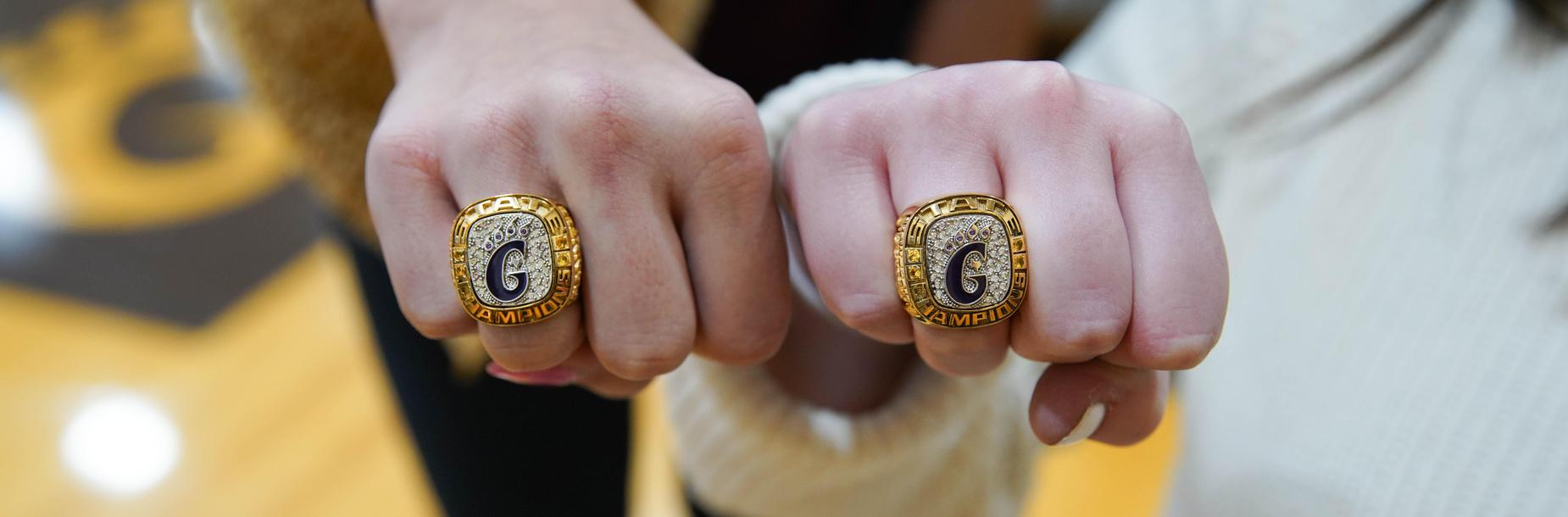 state champ rings