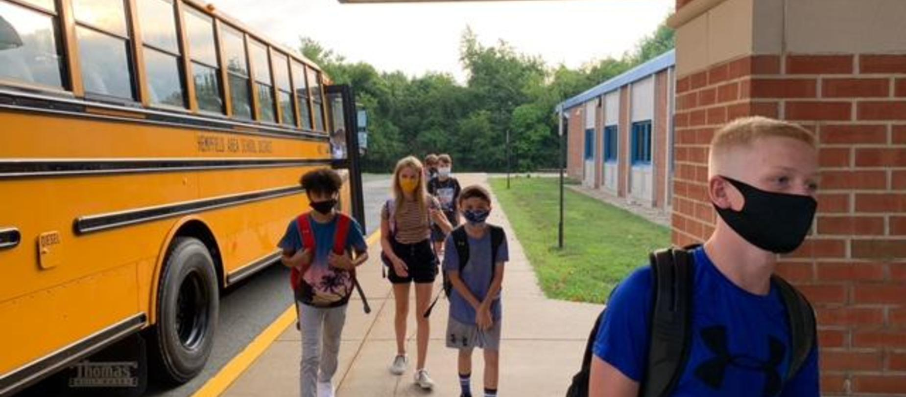 Students entering WHMS