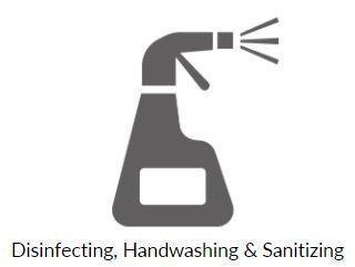 Disinfecting, Handwashing, & Sanitizing