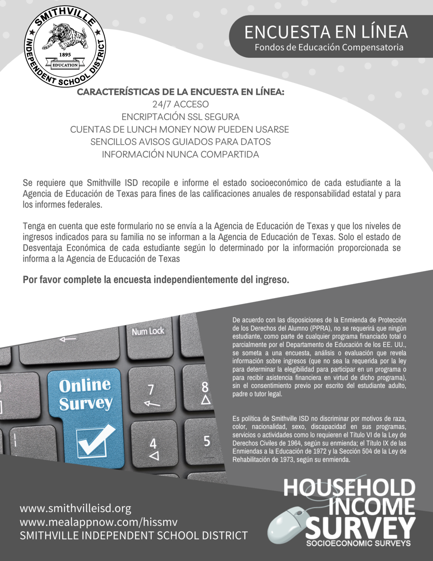 Household Income Survey Spanish