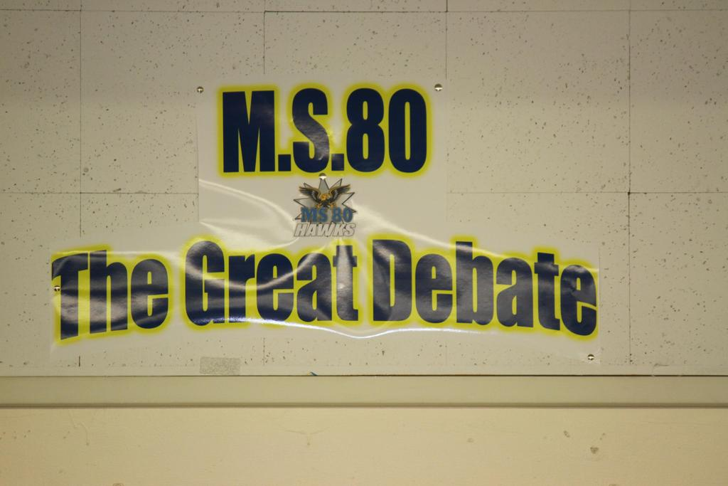 Ms80 the great debate poster