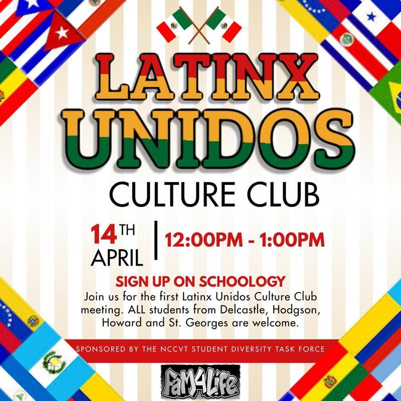 Latinx Unidos Culture Club Meeting