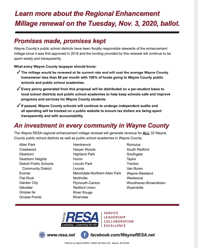 What every Wayne County Taxpayer should know Featured Photo