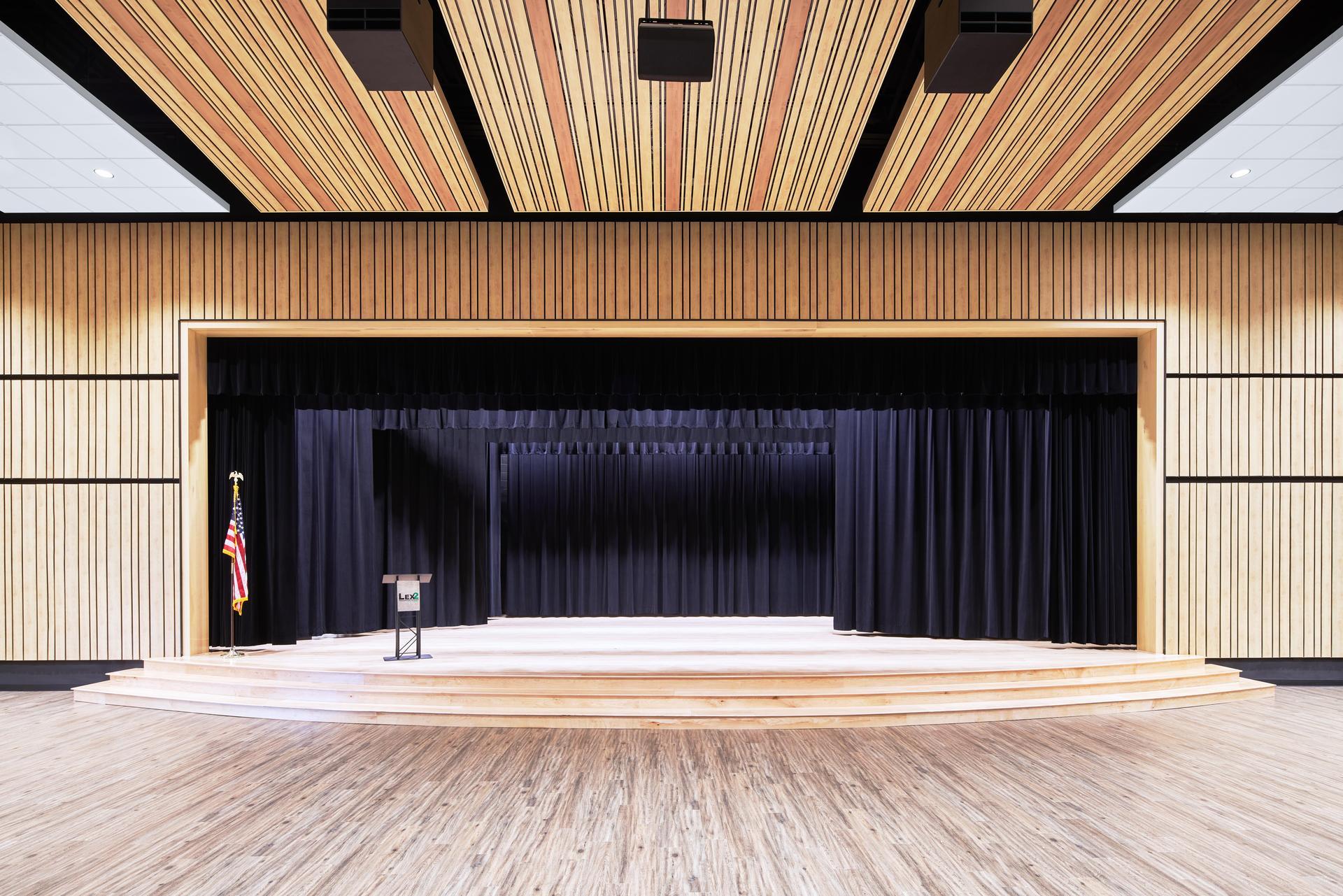 Lexington 2 Innovation Center Auditorium Stage