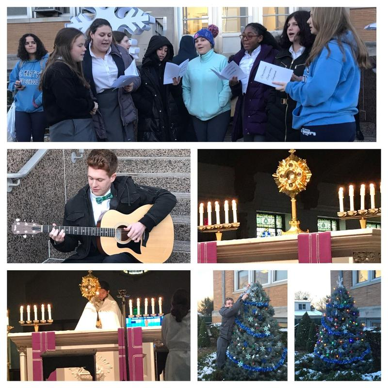 St. Mary's Shows Christmas Spirit! Featured Photo