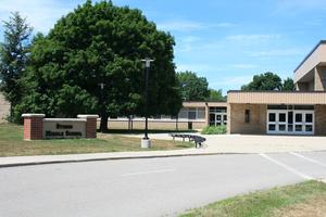 Exterior of the middle school
