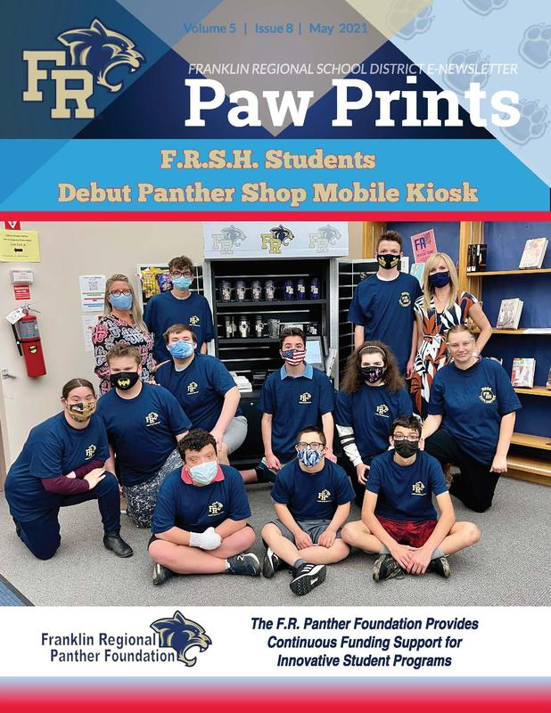 Paw Prints May 2021