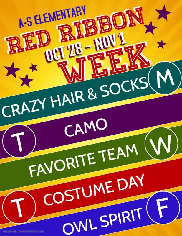 Red Ribbon Week! October 28 - November 1 Featured Photo