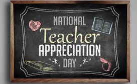 National Teacher Appreciation Day graphic