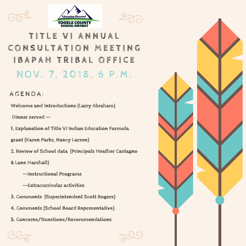 Title VI Annual Consultation Meeting Thumbnail Image