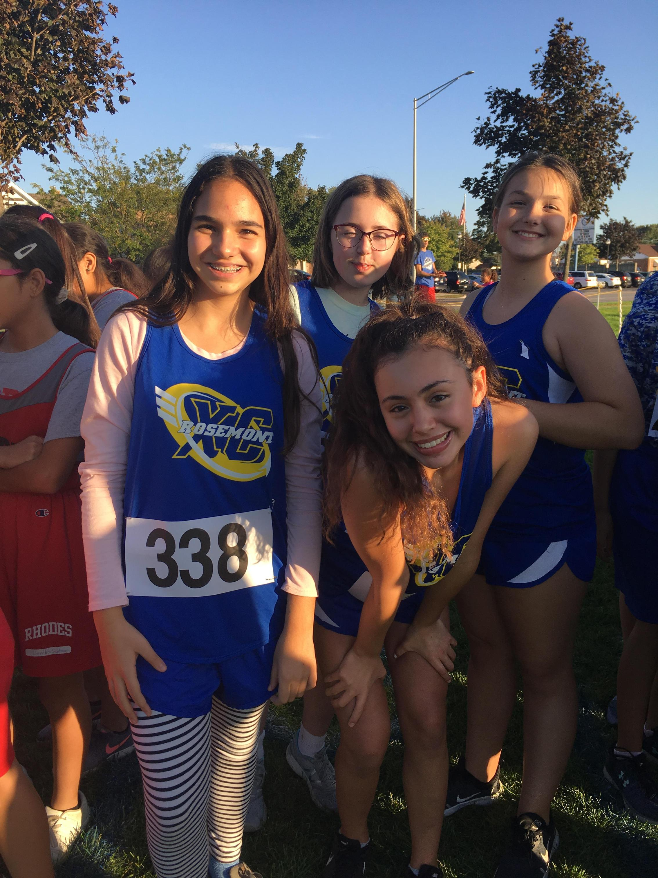 7th/8th grade girls