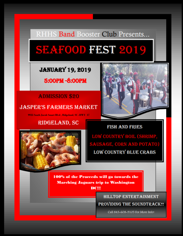 RHHS Band Booster Club presents their Seafood Fest 2019 Featured Photo