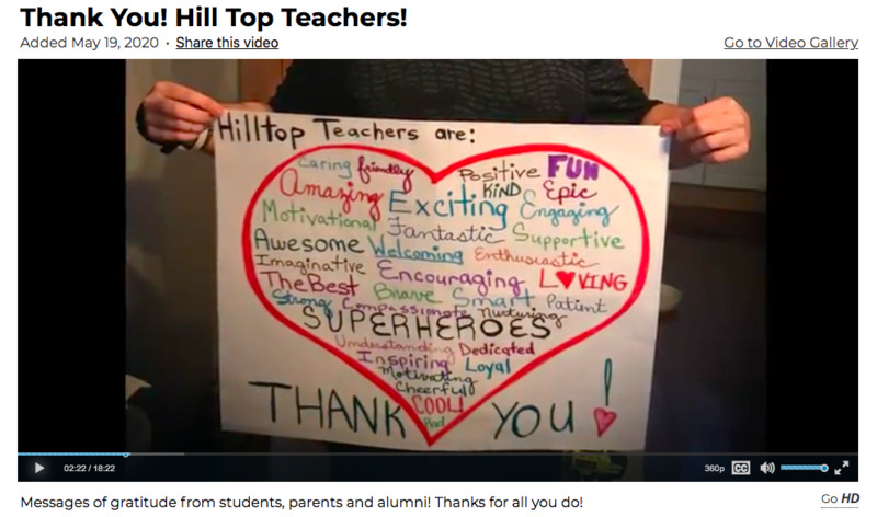 Thank you to our amazing Teachers & Staff! Featured Photo
