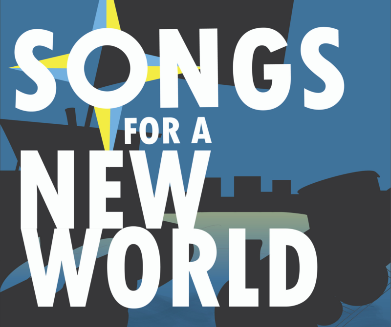 Songs for a New World poster