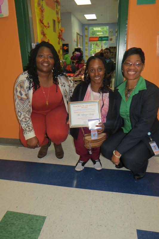 Latoya Latty Teacher of the Month