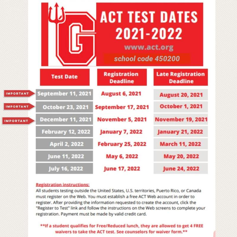 ACT Testing is Approaching! Featured Photo