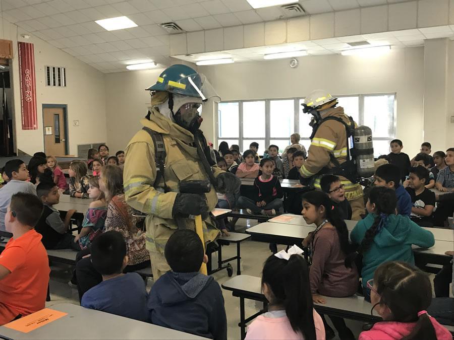CES Fire Dept Visit