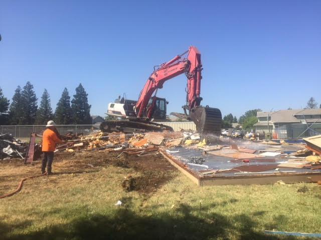 Taylor portables coming down