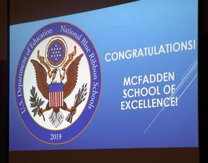 McFadden Blue Ribbon